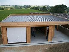 toit plat en tole garage toit plat avec buch 233 garage en 2019 garage toit