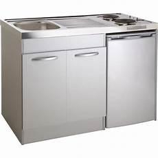 kitchenette electrique gris aluminium h 92 5 x l