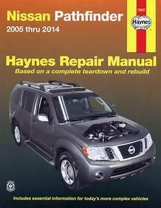 how to download repair manuals 2009 nissan pathfinder seat position control nissan pathfinder repair manual 2005 2014 haynes 72037