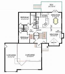 bi level house plans with garage bi level house plan with a bonus room 2011579 by e designs