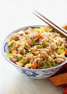 chicken fried rice recipe simplyrecipes com