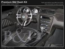 ford mustang erfahrungsberichte ford mustang 2010 up w o nav real carbon fiber dash kit interior accessories car truck