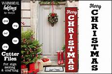 merry christmas vertical svg
