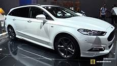 2018 ford mondeo st line diesel exterior and interior