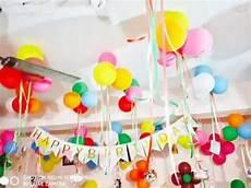 Simple Birthday Decoration Ideas At Home 1st Birthday