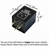 3 Pin EP28 Electronic LED Flasher Relay Fix Turn Signal