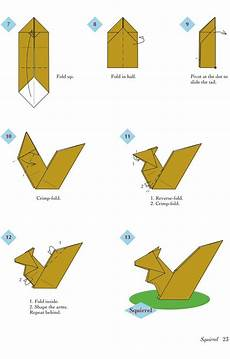 easy origami animals page 4 of 6 squirrel 2 of 2
