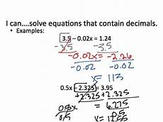 decimals equations worksheet 7116 2 3 solving multi step equations with fractions and decimals math algebra solving equations