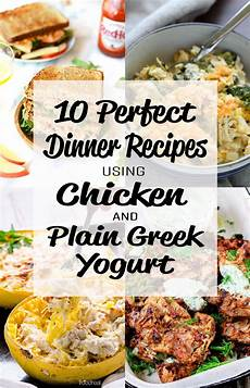10 Dinner Recipes Using Chicken And Plain