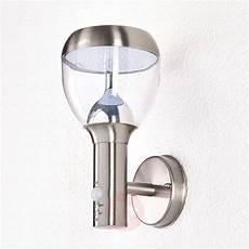 etta stainless steel sensor outdoor wall light led lights co uk
