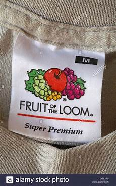 fruit of the loom label in t shirt stock photo 58701841