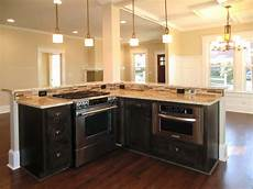 Kitchen Islands With Oven And Microwave by Counter Microwave For Easier Works Traba Homes