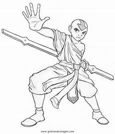Malvorlagen Comic Aang 6 Gratis Malvorlage In Aang Comic Trickfilmfiguren
