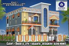 cute 5 bhk house architecture top indian 3d front elevation modern home design 4 bhk 2