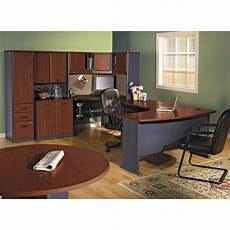 bush home office furniture bbf series a corner office desk by bush furniture