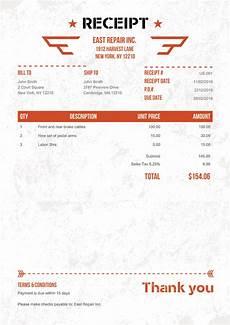 100 free receipt templates print email receipt free