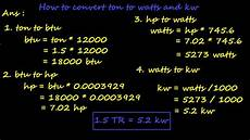 umrechnung ps kw different way to calculate kilowatt compute kw what is