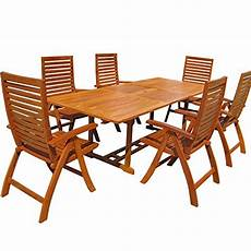 Gartenmoebel Set Holz Guenstig - gartenm 246 bel set holz g 252 nstig kaufen deutsche dekor