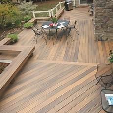 Terrasse En Bois Composite Lame Fiberon Horizon Decklinea