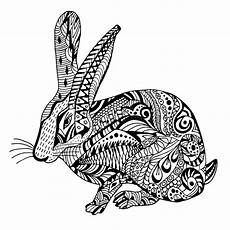 rabbit doodle graghic stock vector
