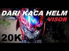 Helm Vixion Modif by Visor Keren Transformers Dari Kaca Helm Bekas New Vixion