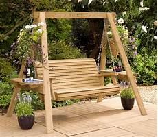 schaukel garten holz garden swings the enchanting element in your backyard