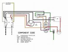 ac condenser fan motor wiring diagram fuse box and wiring diagram