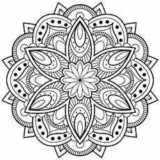 Malvorlagen Mandalas Blumen Mandala Malvorlage Kinder