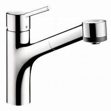 hansgrohe talis kitchen faucet hansgrohe talis s single handle pull out sprayer kitchen faucet in chrome 06462000 the home depot
