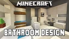 minecraft bathroom ideas minecraft tutorial how to build a modern house ep 7 bathroom furniture design ideas