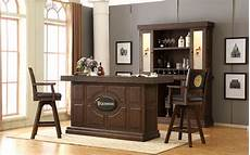 bar set guinness antique walnut 82 quot bar set from eci furniture