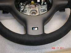 bmw e46 m3 smg leather suede m sport steering wheel ebay