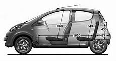Peugeot 107 Technische Daten - citroen c1 abmessungen technische daten l 228 nge