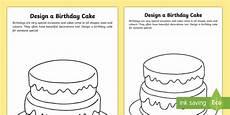 birthday cake printable worksheets 20255 design a birthday cake worksheet design a cake birthday celebrations make