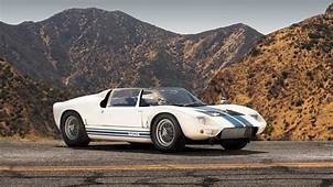 The First Ford GT40 Roadster Is Up For Sale