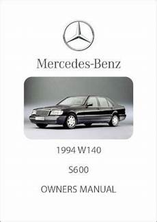 free car manuals to download 2007 mercedes benz clk class parking system mercedes benz w140 s600 1994 owners manual free car manuals direct