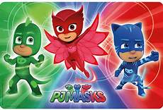 Pj Mask Malvorlagen Jepang Zak S Pj Masks Placemat Kitchenkapers