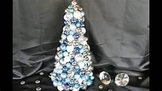 Weihnachtsbaum Aus Draht - weihnachtsbasteln tannenbaum basteln aus kugeln diy