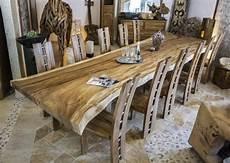 Esstisch Konferenztisch Aus Einem Baumstamm Esstisch