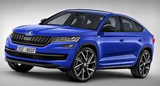 Skoda S New Kodiaq Coupe Will Probably Look Something Like