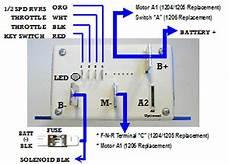 golf cart speed controller wiring diagram thunderstruck motors alltrax 4834