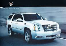 car owners manuals for sale 2011 cadillac escalade interior lighting 2011 cadillac escalade original sales brochure hybrd esv ext ebay