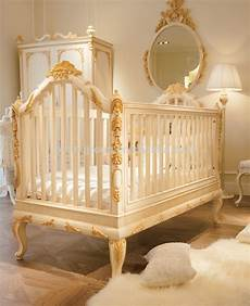 culle di lusso bisini luxury wooden baby crib royal golden carving