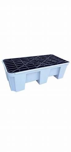 vasca di plastica vasca di contenimento in plastica per 2 fusti da 220 l