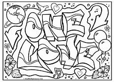 omg another graffiti coloring book of room signs learn to draw graffiti