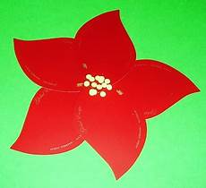 learning ideas grades k 8 a poinsettia craft