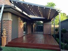 retractable pergola awning best quality design gray stained finish tough metal posts crossbeams