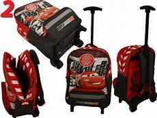 disney cars koffer trolley rucksack reisetasche f kinder