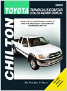 old car owners manuals 2002 toyota sequoia auto manual chilton 2000 2006 toyota tundra 2001 2007 sequoia repair manual
