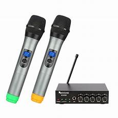 cordless microphone system wireless microphone system for karaoke k036 fifinemic